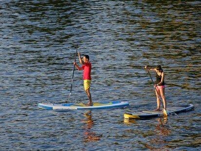 Stand-Up Paddle sur la côte Basque